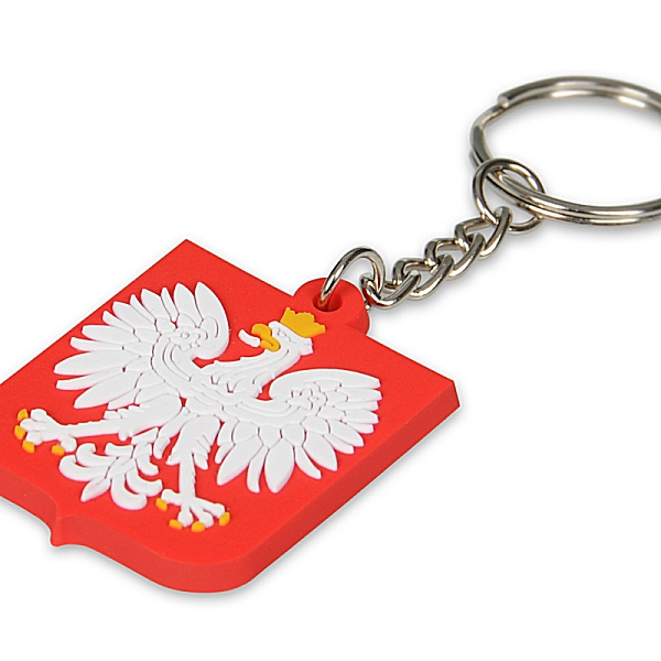 Brelok Polska guma